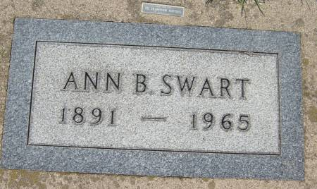 SWART, ANN B. - Cherokee County, Iowa | ANN B. SWART