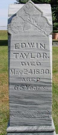TAYLOR, EDWIN - Cherokee County, Iowa | EDWIN TAYLOR