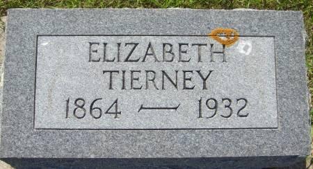 TIERNEY, ELIZABETH - Cherokee County, Iowa   ELIZABETH TIERNEY