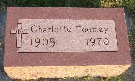 TOOMEY, CHARLOTTE - Cherokee County, Iowa   CHARLOTTE TOOMEY