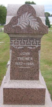 TREINEN, JOHN - Cherokee County, Iowa | JOHN TREINEN