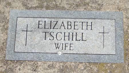TSCHILL, ELIZABETH - Cherokee County, Iowa   ELIZABETH TSCHILL