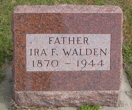 WALDEN, IRA F. - Cherokee County, Iowa | IRA F. WALDEN