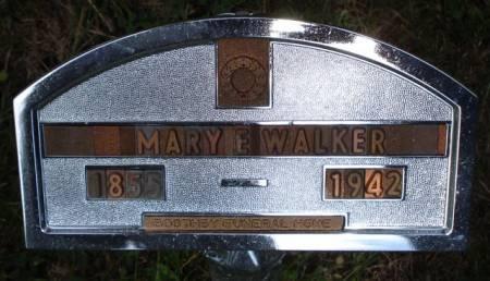 WALKER, MARY E. - Cherokee County, Iowa   MARY E. WALKER