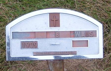 WALSH, B - Cherokee County, Iowa | B WALSH