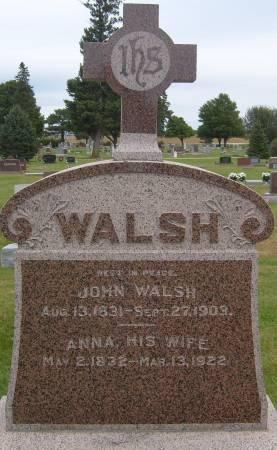WALSH, JOHN - Cherokee County, Iowa | JOHN WALSH