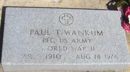 WANKUM, PAUL T. - Cherokee County, Iowa | PAUL T. WANKUM