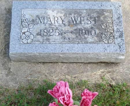 WEST, MARY - Cherokee County, Iowa | MARY WEST
