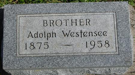 WESTENSEE, ADOLPH - Cherokee County, Iowa | ADOLPH WESTENSEE