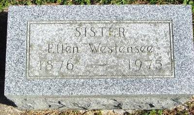 WESTENSEE, ELLEN - Cherokee County, Iowa | ELLEN WESTENSEE