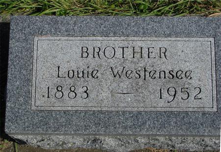 WESTENSEE, LOUIE - Cherokee County, Iowa | LOUIE WESTENSEE