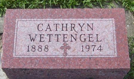 WETTENGEL, CATHRYN - Cherokee County, Iowa | CATHRYN WETTENGEL