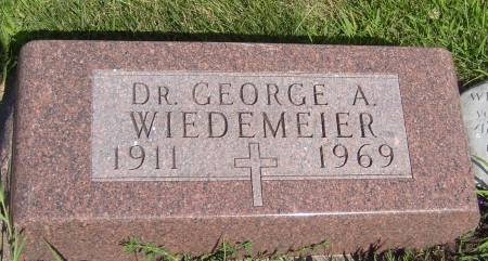 WIEDEMEIER, DR. GEORGE A. - Cherokee County, Iowa | DR. GEORGE A. WIEDEMEIER