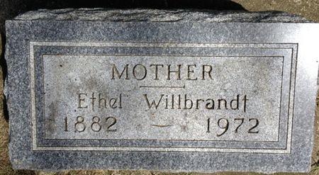 WILLBRANDT, ETHEL - Cherokee County, Iowa | ETHEL WILLBRANDT