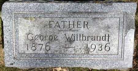 WILLBRANDT, GEORGE - Cherokee County, Iowa   GEORGE WILLBRANDT
