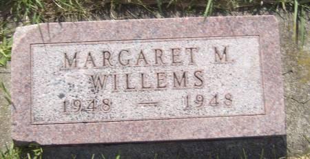 WILLEMS, MARGARET M. - Cherokee County, Iowa   MARGARET M. WILLEMS