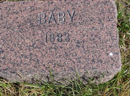 WILLIAMS, BABY - Cherokee County, Iowa | BABY WILLIAMS