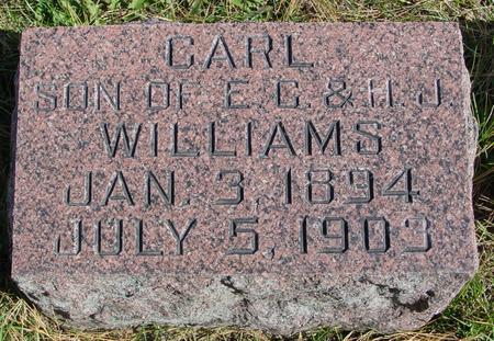WILLIAMS, CARL - Cherokee County, Iowa   CARL WILLIAMS