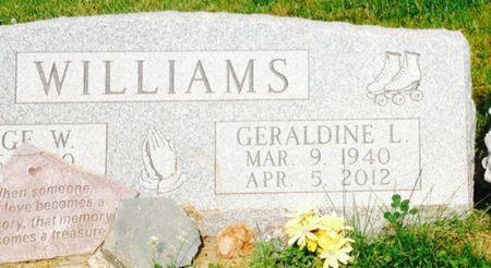 WILLIAMS, GERALDINE L. - Cherokee County, Iowa   GERALDINE L. WILLIAMS