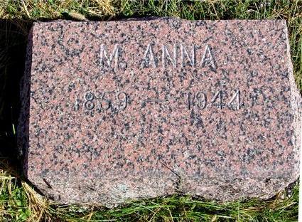 WILLIAMS, M. ANNA - Cherokee County, Iowa | M. ANNA WILLIAMS