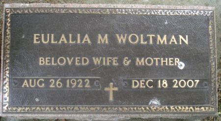 WOLTMAN, EULALIA M. - Cherokee County, Iowa | EULALIA M. WOLTMAN