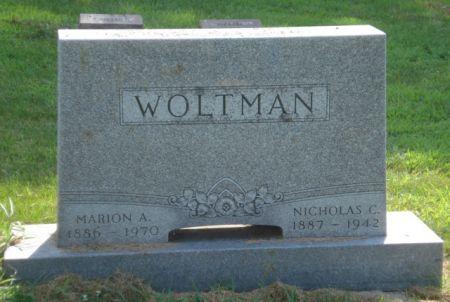 WOLTMAN, NICHOLAS C. - Cherokee County, Iowa   NICHOLAS C. WOLTMAN