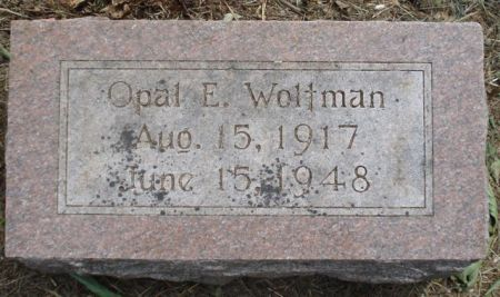 WOLTMAN, OPAL E. - Cherokee County, Iowa | OPAL E. WOLTMAN