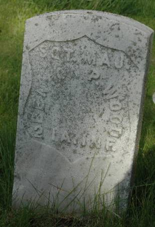 WOOD, BENTON P. - Cherokee County, Iowa | BENTON P. WOOD