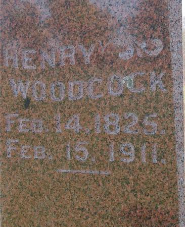 WOODCOCK, HENRY - Cherokee County, Iowa | HENRY WOODCOCK