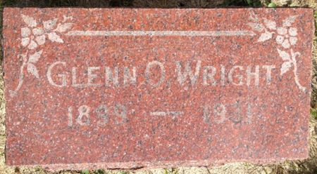 WRIGHT, GLENN O. - Cherokee County, Iowa   GLENN O. WRIGHT