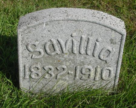 WRIGHT, SAVILLA - Cherokee County, Iowa | SAVILLA WRIGHT
