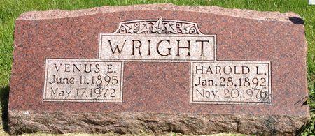 WRIGHT, HAROLD L. - Cherokee County, Iowa   HAROLD L. WRIGHT