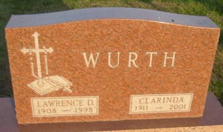 WURTH, CLARINDA LORETTA - Cherokee County, Iowa | CLARINDA LORETTA WURTH