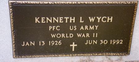 WYCH, KENNETH L. - Cherokee County, Iowa | KENNETH L. WYCH