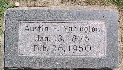 YARINGTON, AUSTIN - Cherokee County, Iowa | AUSTIN YARINGTON