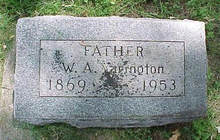 YARINGTON, W. A. - Cherokee County, Iowa | W. A. YARINGTON