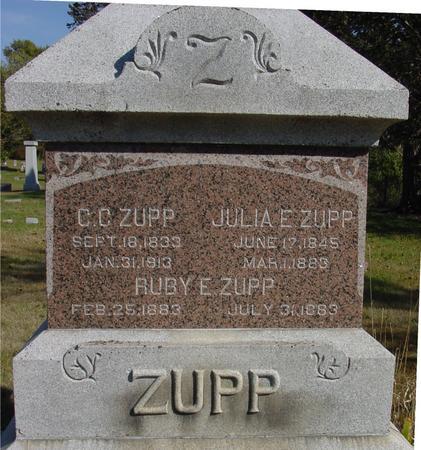 ZUPP, CHRISTOPHER C. - Cherokee County, Iowa | CHRISTOPHER C. ZUPP