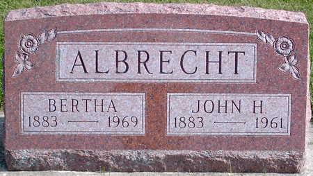 ALBRECHT, JOHN - Chickasaw County, Iowa | JOHN ALBRECHT