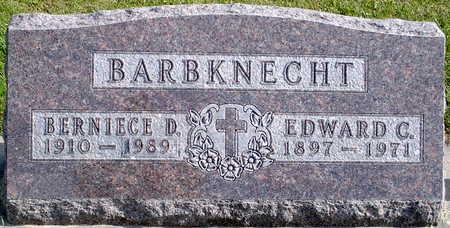 BARBKNECHT, EDWARD C - Chickasaw County, Iowa | EDWARD C BARBKNECHT