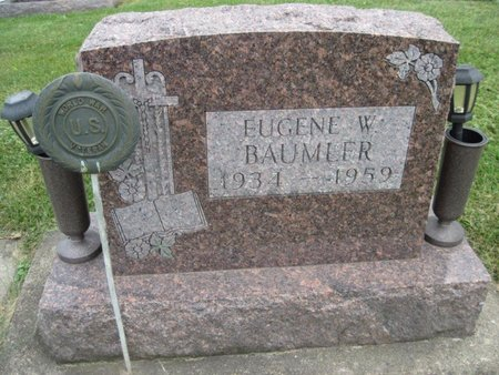BAUMLER, EUGENE W. - Chickasaw County, Iowa   EUGENE W. BAUMLER