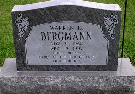 BERGMANN, WARREN D. - Chickasaw County, Iowa | WARREN D. BERGMANN