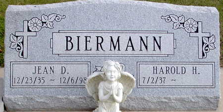 BIERMANN, JEAN D. - Chickasaw County, Iowa   JEAN D. BIERMANN