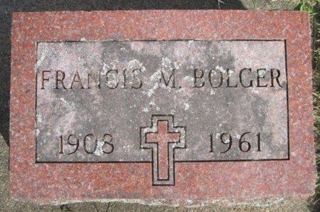 BOLGER, FRANCES M. - Chickasaw County, Iowa | FRANCES M. BOLGER