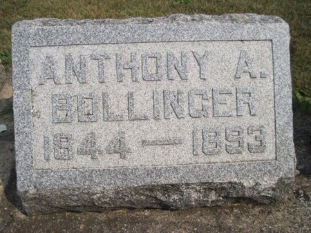 BOLLINGER, ANTHONY A. - Chickasaw County, Iowa | ANTHONY A. BOLLINGER
