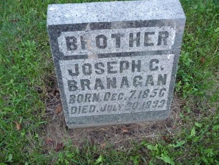 BRANAGAN, JOSEPH C - Chickasaw County, Iowa | JOSEPH C BRANAGAN