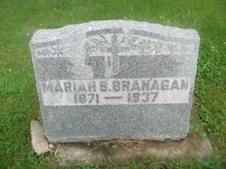 BRANAGAN, MARIAN B - Chickasaw County, Iowa | MARIAN B BRANAGAN