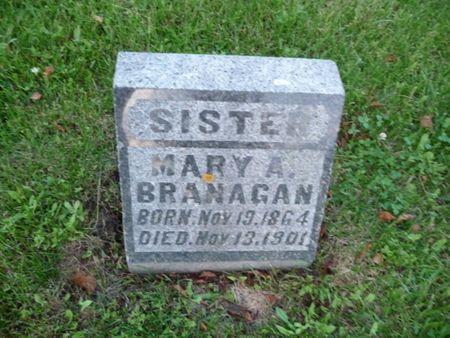 BRANAGAN, MARY A - Chickasaw County, Iowa | MARY A BRANAGAN
