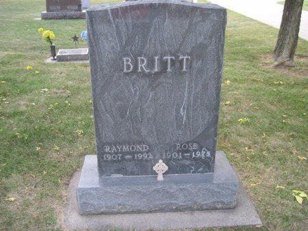 BRITT, ROSE - Chickasaw County, Iowa | ROSE BRITT