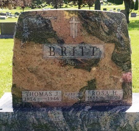 BRITT, THOMAS J - Chickasaw County, Iowa | THOMAS J BRITT