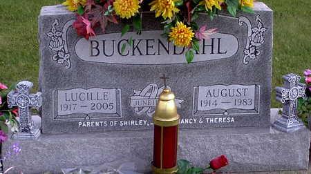 BUCKENDAHL, AUGUST - Chickasaw County, Iowa | AUGUST BUCKENDAHL